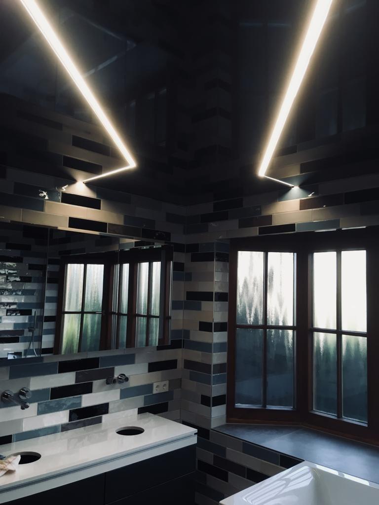 Lichtleisten schaffen einzigartiges Baddesign   Gondelsheim