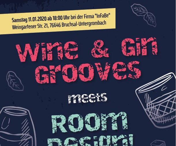 Wine & Gin meets Room Design